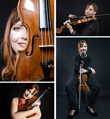 Cornelia Scholz - Violine, Barockvoline, Instrumentalpädagogin